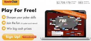 Play free poker for cash prizes
