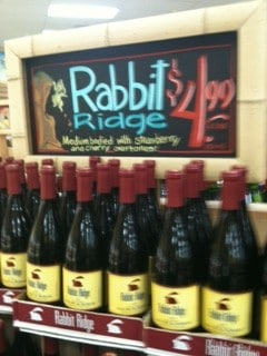 Rabbit Ridge Allure de Robles 2011(California $4.99 TJ's)
