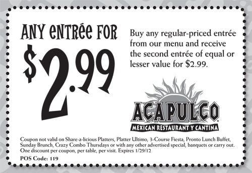 Other Coupons: