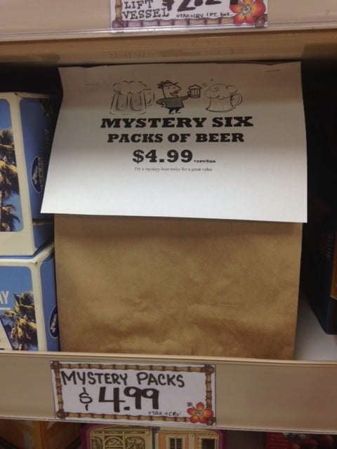 Trader Joe's Mystery Pack Beer